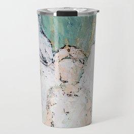 Abstract Angel Painting Travel Mug