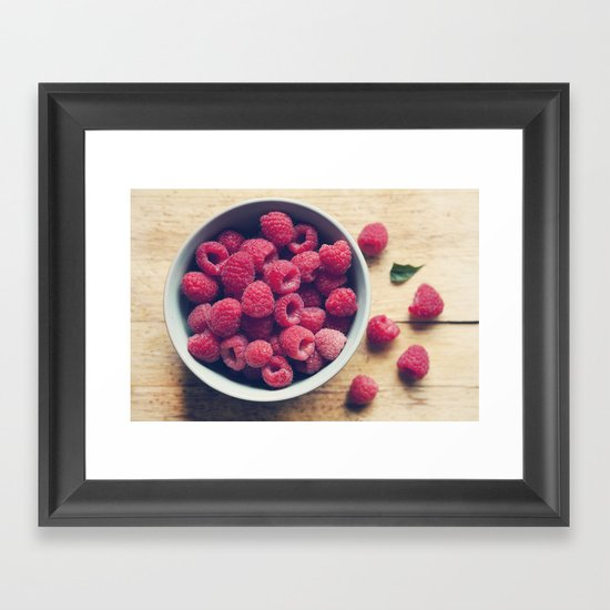 Sweet Red Framed Art Print