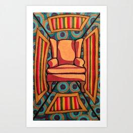 Chair 001 Art Print