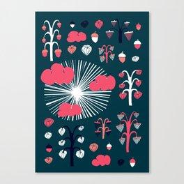 september dark Canvas Print