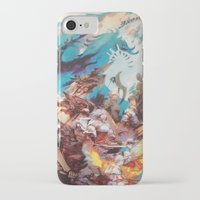 final fantasy iPhone & iPod Cases featuring Final Fantasy by Tamika