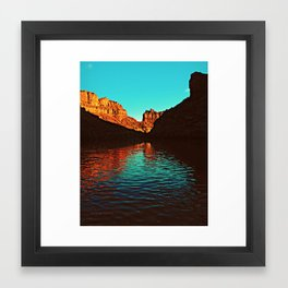 Deep Reflections Framed Art Print