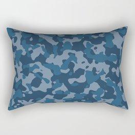 Camouflage Ocean Rectangular Pillow
