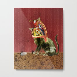 inside Kitty 1 Metal Print