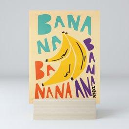 Banana Bananas Mini Art Print