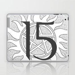 SPN Print (White) Laptop & iPad Skin