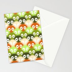 susuwatari pattern (color version) Stationery Cards