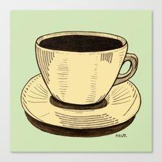good ol' cup of coffee, I. Canvas Print