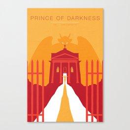 John Carpenter, Modern Master Series :: Prince of Darkness Canvas Print