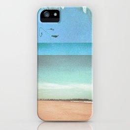 Peach Beach iPhone Case