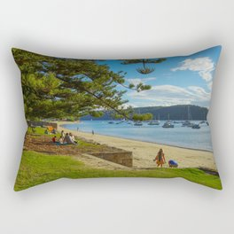 Governer Phillip Park, Palm Beach, Sydney Rectangular Pillow