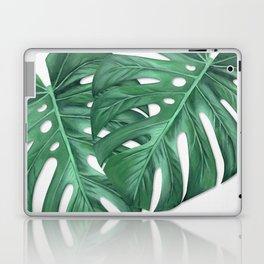 Monstera Tropical Leaf Painting Laptop & iPad Skin
