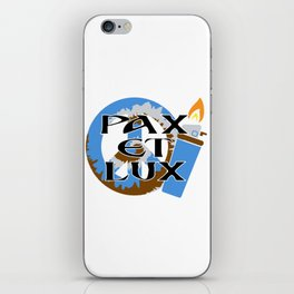 Tufts Pax Et Lux iPhone Skin
