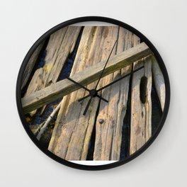 Woodwork Wall Clock