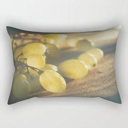 Food. Fruit. Summer grapes Rectangular Pillow