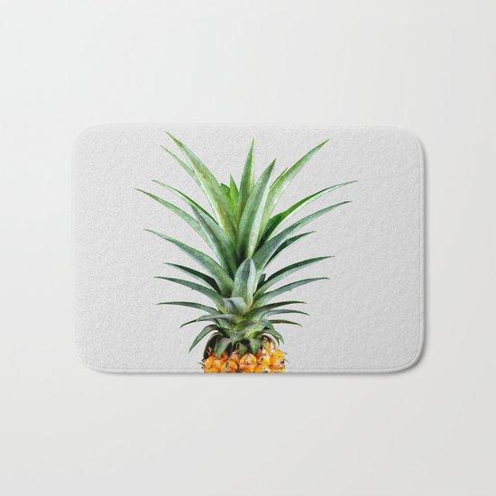 Pineapple V2 #society #buyart #artprints #decor Bath Mat