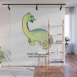 Brackston the Brachiosaurus Wall Mural