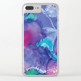 Rainbow Bubble Clear iPhone Case