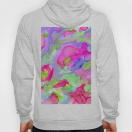 Colorful abstract rain Hoody