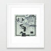 matrix Framed Art Prints featuring Matrix by    VRSX