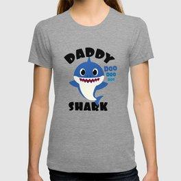 Daddy Shark graphic Gift - Cute Baby Shark Matching Family T-shirt