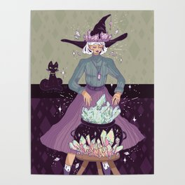 Crystal Witch Poster