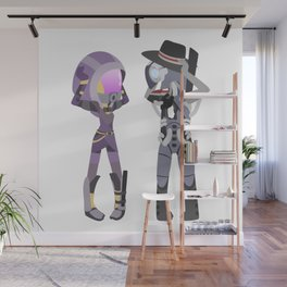 Mass Effect - Tali and Legion [Commission] Wall Mural