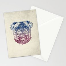 Gritty Bulldog Stationery Cards