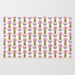 Papercraft Cactus in Pink Rug