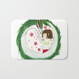 Watercolor Spirited Away - The Love Gathering Bath Mat