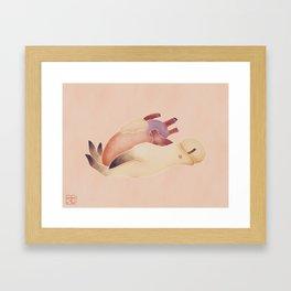 Be Open-Handed Framed Art Print