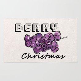 Happy berry christmas III Rug