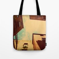 spain Tote Bags featuring Spain by Emma.B