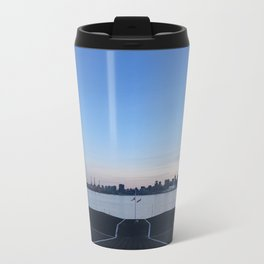 Sunset in North Vancouver Metal Travel Mug