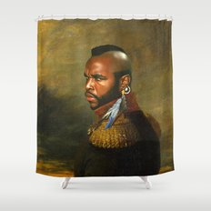 Mr. T - replaceface Shower Curtain