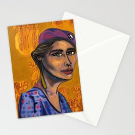 Iris Morales (Young Lords Party Series) Stationery Cards
