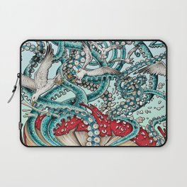 Flying the Agaric Laptop Sleeve