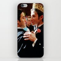klaine iPhone & iPod Skins featuring Klaine by Warbler