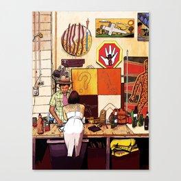 Blakspot Redfern Canvas Print