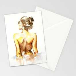 I'll let you steal a glance Stationery Cards