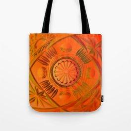 Looking Glass - Orange Tote Bag