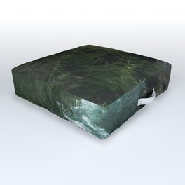 The Lost River - Pacific Northwest Outdoor Floor Cushion