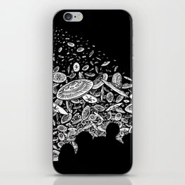 The Day the Saucers Came iPhone Skin