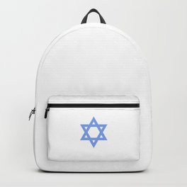 Star Of David Judaism Symbol Sign Jewish Israeli Humor Cool Pun Design Gift Backpack