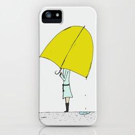 Umbrella Girl iPhone Case