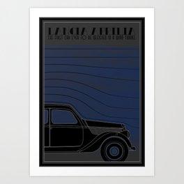 Lancia Aprilia Art Print