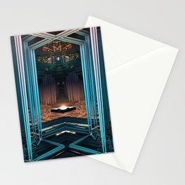 Antechamber - Mandelbulb - Fractal - Manafold Art Stationery Cards