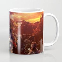 XIV. Temperance Tarot Card Illustration (Color) Coffee Mug