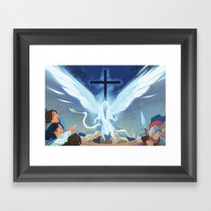 Like Lightning (by Melanie Matthews) Framed Art Print