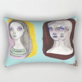 The Triplets Rectangular Pillow